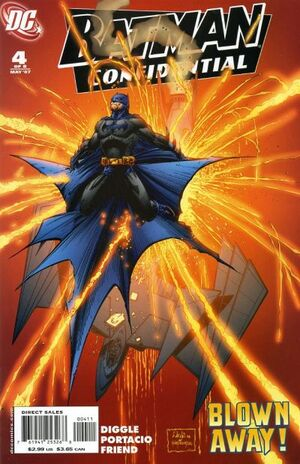 Cover for Batman Confidential #4 (2007)