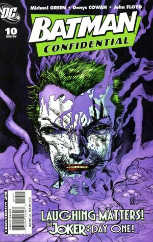 Cover for Batman Confidential #10 (2007)