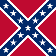 Battle flag of the US Confederacy