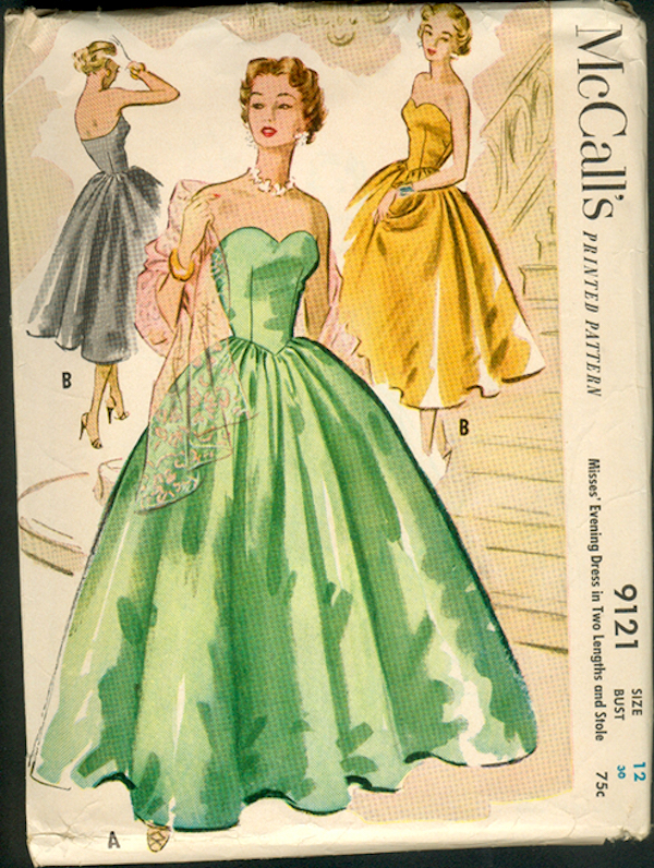 M9121 Ball Gown Sewing Patterns