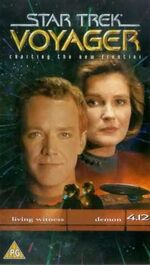 VOY 4.12 UK VHS cover