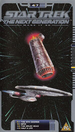 TNG 4.7 UK VHS cover