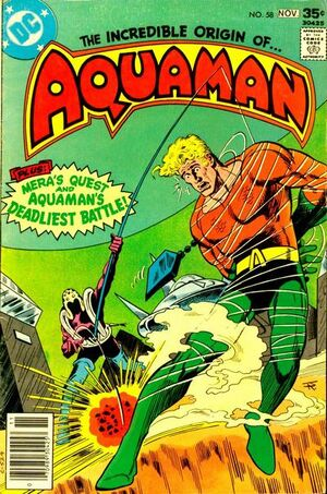 Cover for Aquaman #58