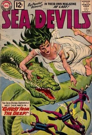 Cover for Sea Devils #3
