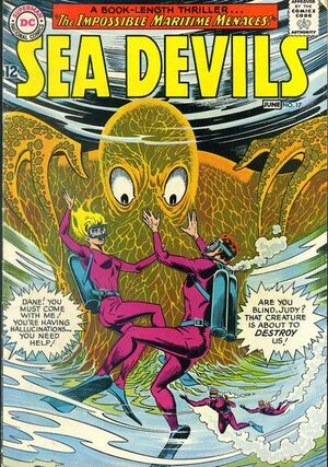 Cover for Sea Devils #17