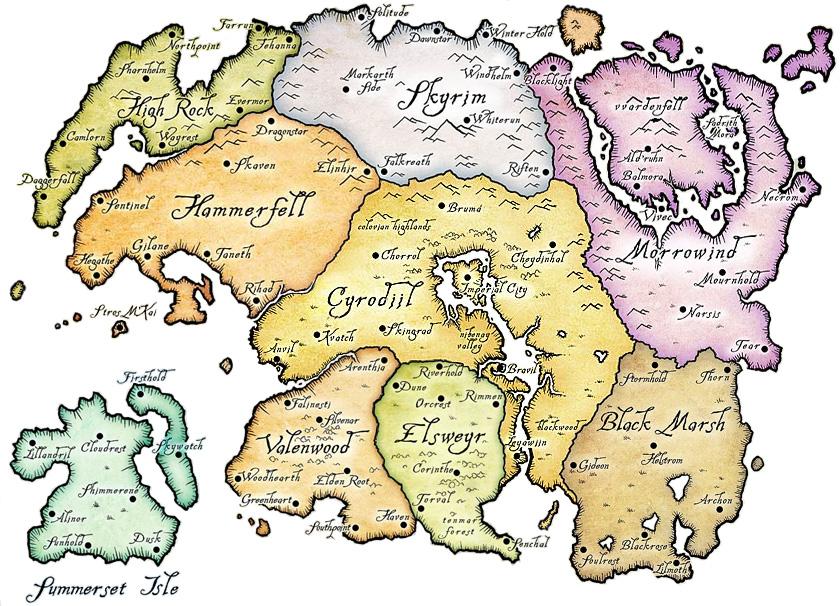 The Elder Scrolls: Los mer, o elfos. - Taringa!