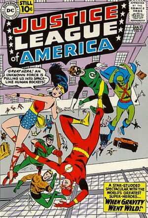 Cover for Justice League of America #5