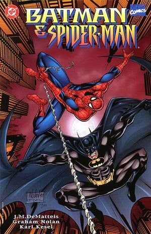 Cover for Batman and Spider-Man #1