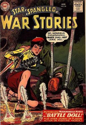 Cover for Star-Spangled War Stories #84