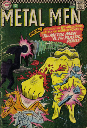 Cover for Metal Men #21