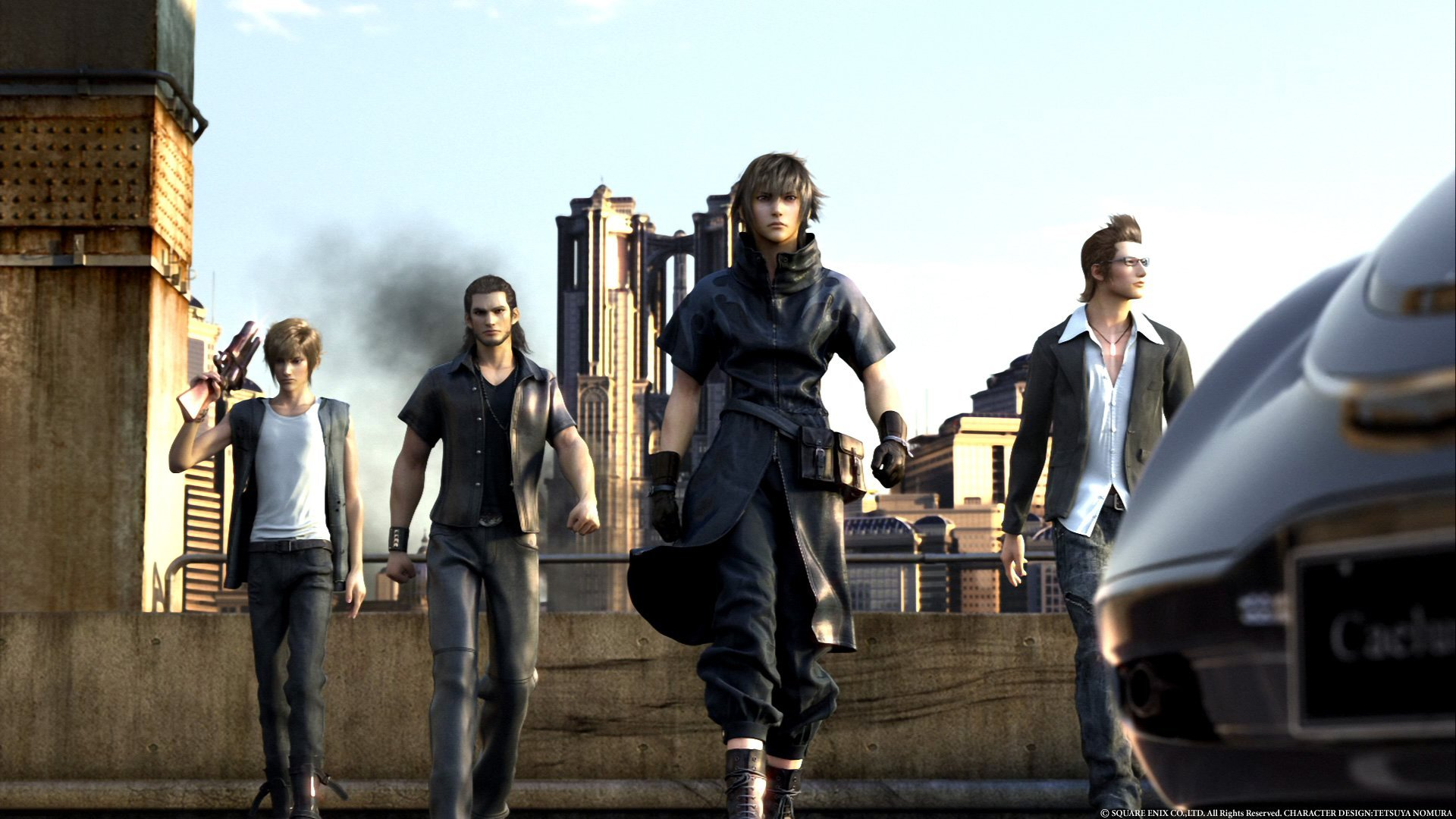 Direct-feed TGS Agito, Versus XIII gameplay footage
