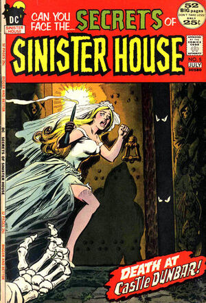 Cover for Secrets of Sinister House #5