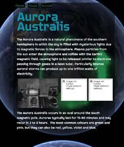 Aurora website