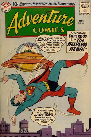 Cover for Adventure Comics #264