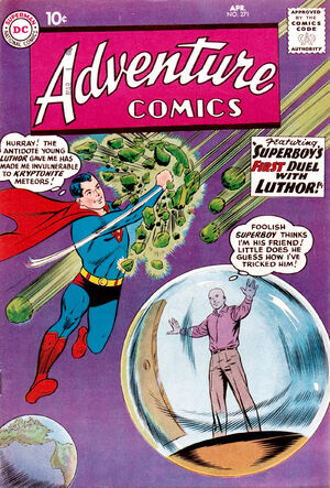 Cover for Adventure Comics #271