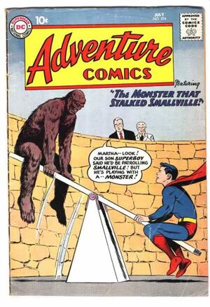 Cover for Adventure Comics #274