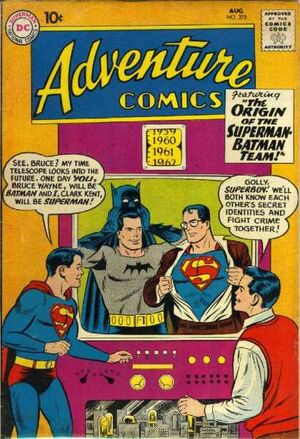 Cover for Adventure Comics #275