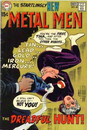Cover for Metal Men #40
