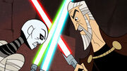 Dooku vs Ventress