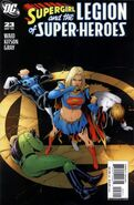 Supergirl and the LSH 23