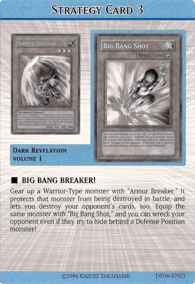 Content Strategy >> Strategy Card - Yu-Gi-Oh!