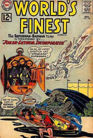 Cover for World&#39;s Finest #129