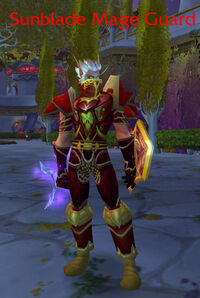Sunblade Mage Guard