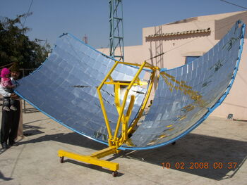 Butterfly Community Solar Cooker
