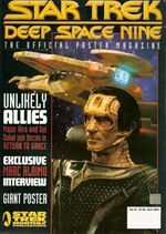 DS9 Poster Magazine issue 12 cover