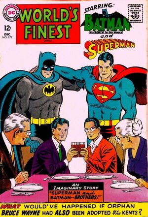 Cover for World&#39;s Finest #172