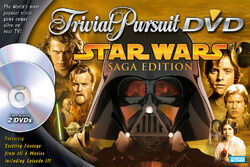 SW Trivial Pursuit DVD Saga Edition