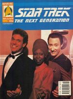 Marvel TNG magazine issue 15 cover