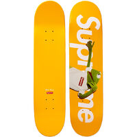 Supreme-Kermit-Skate-Deck-Yellow