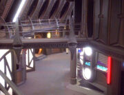 Quark's second level entrance unfinished