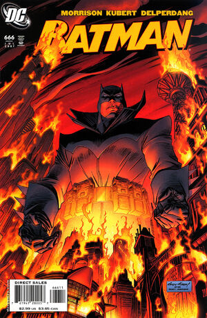 Cover for Batman #666