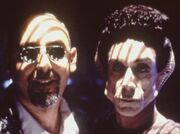 Ira Steven Behr and Iggy Pop