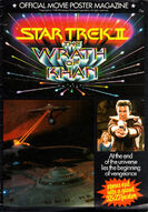 Star Trek II Official Movie Poster Magazine cover