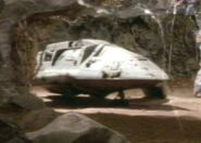 Bajoran raider in cave