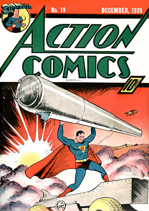 Cover for Action Comics #19