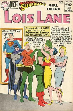 Cover for Superman's Girlfriend, Lois Lane #29