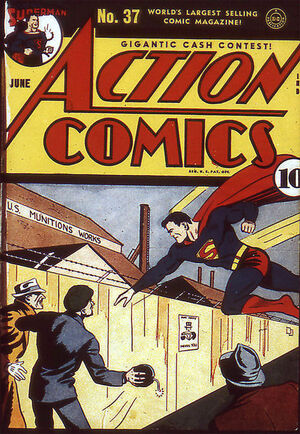 Cover for Action Comics #37