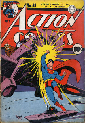 Cover for Action Comics #48