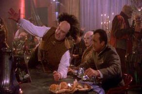 Londo parties during a Centauri religious celebration