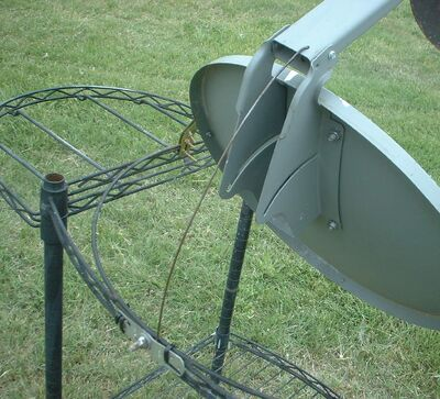West's Parabolic Solar Canner Boiler Steamer cart 004