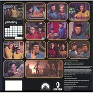 Star Trek Calendar 2003 back
