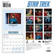 Star Trek Calendar 2007 back