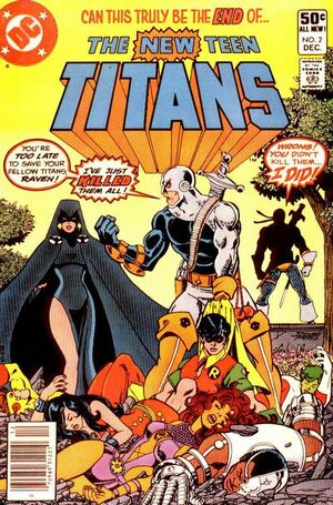 Cover for New Teen Titans #2