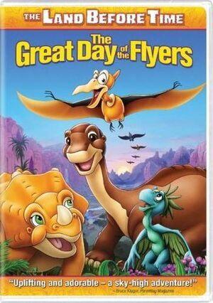 The Great Day of the Flyers DVD cover