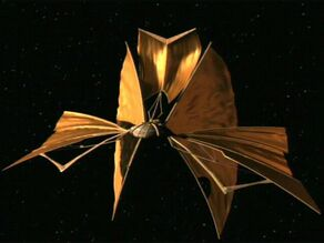 Bajoran lightship (aft)
