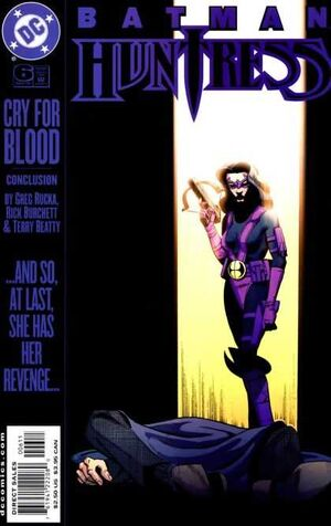Cover for Batman/Huntress: Cry for Blood #6